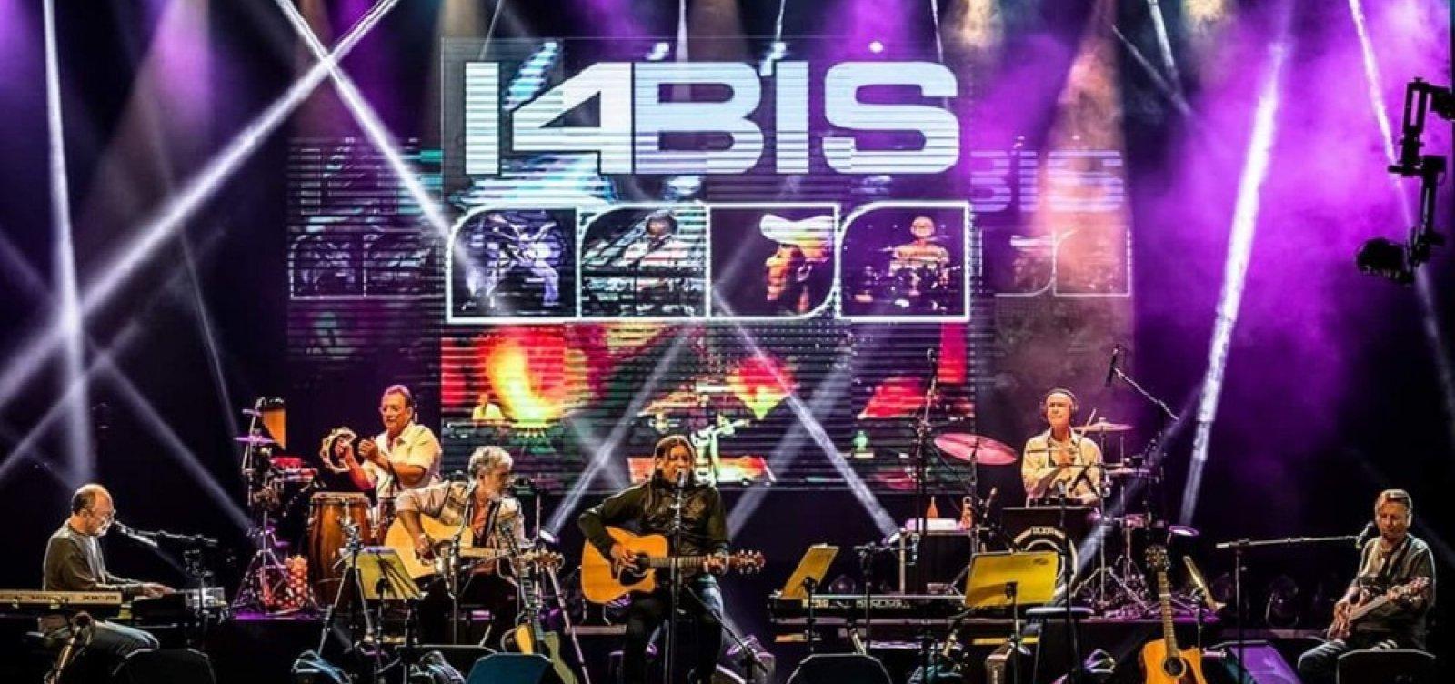Banda 14 Bis apresenta show acústico no TCA