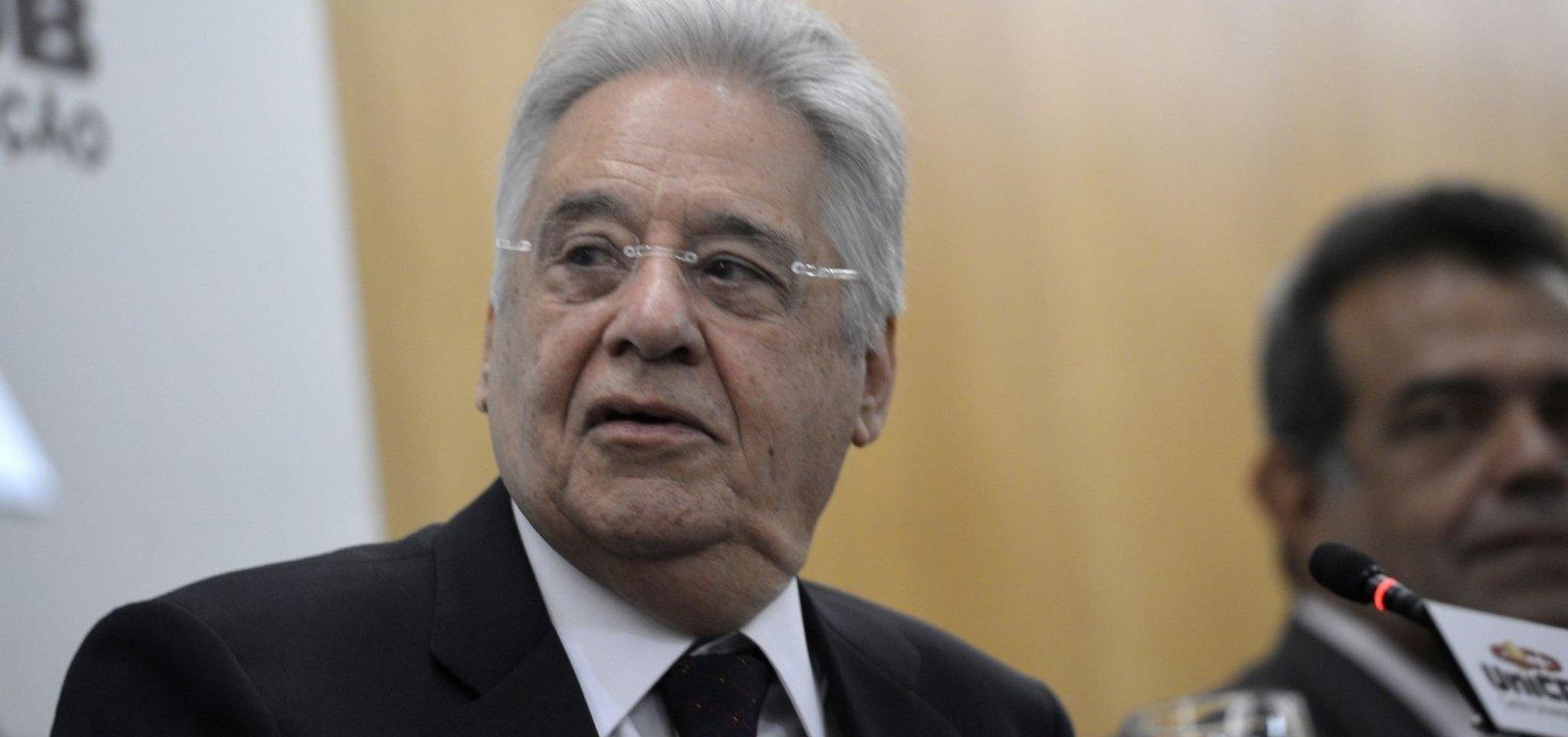Uso da força na Venezuela teria 'custo muito elevado', avalia FHC