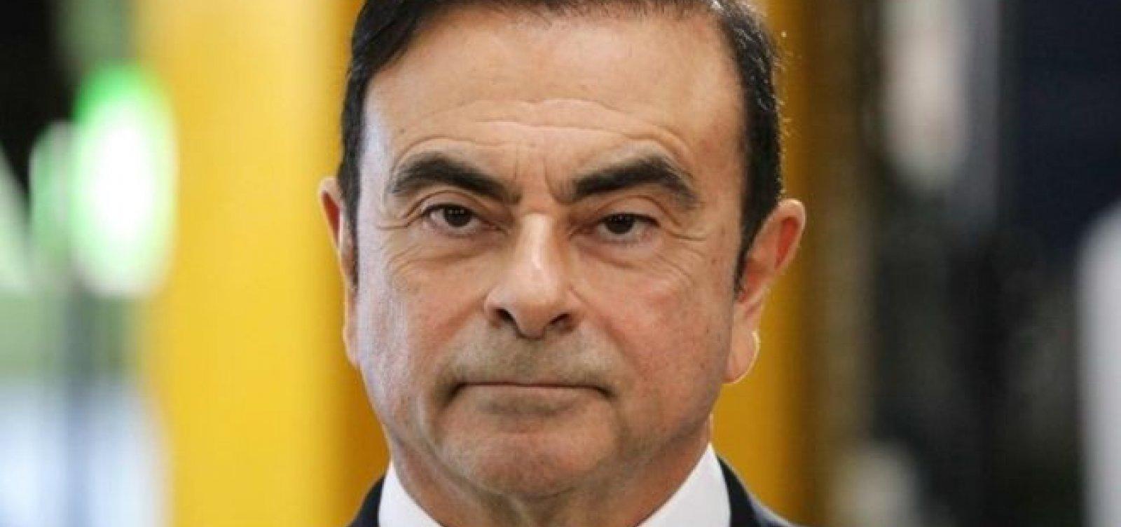 França pede ao Japão que respeite direitos legais de Carlos Ghosn