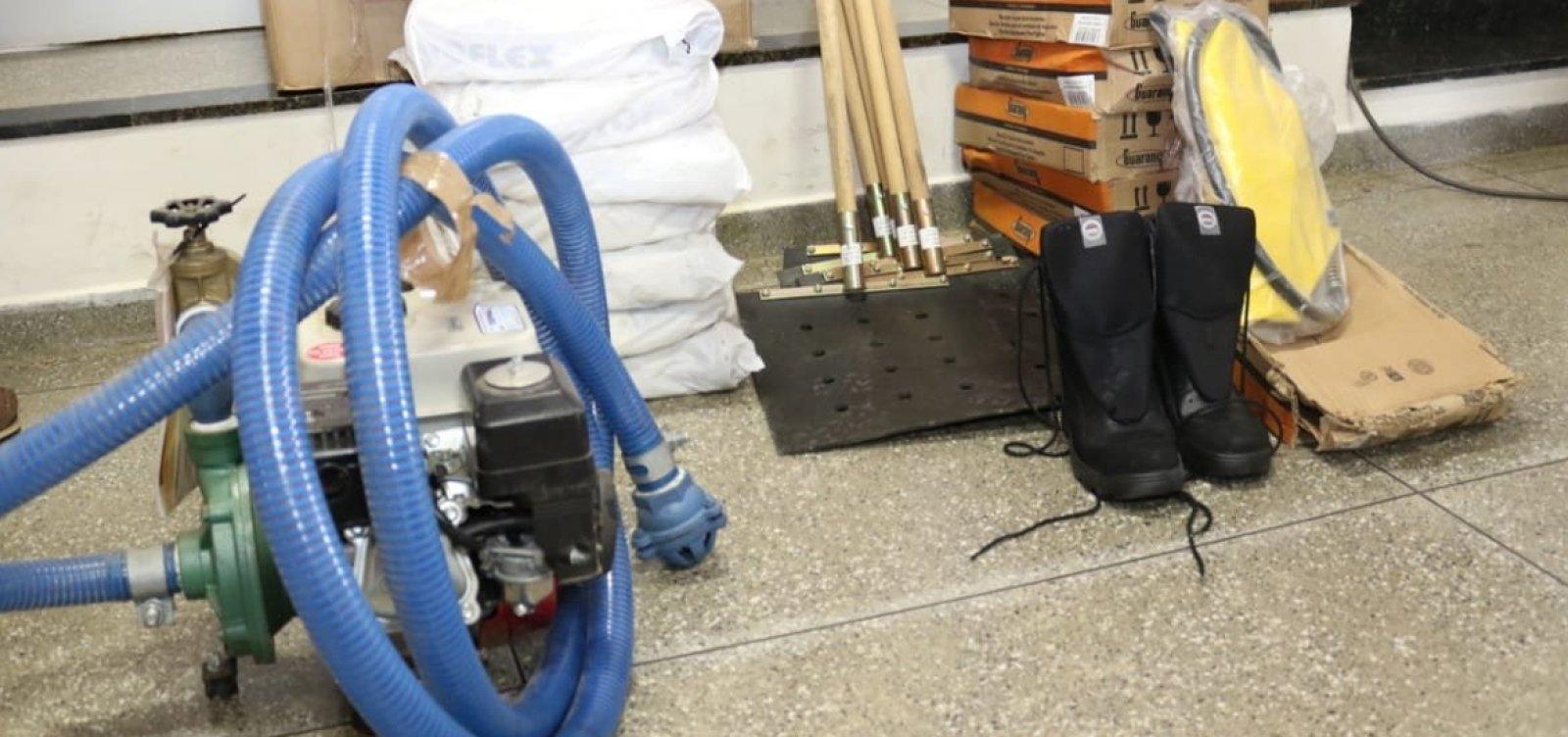 Secretaria entrega equipamentos para Brigada Voluntária de Combate a Incêndios em Mucugê