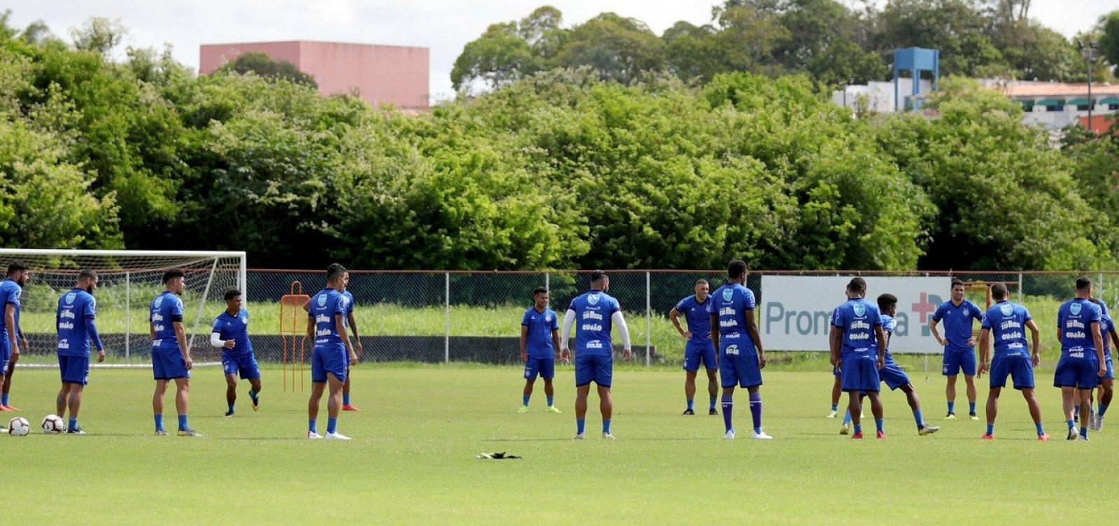 Bahia segue preparação intensa para pegar o CRB