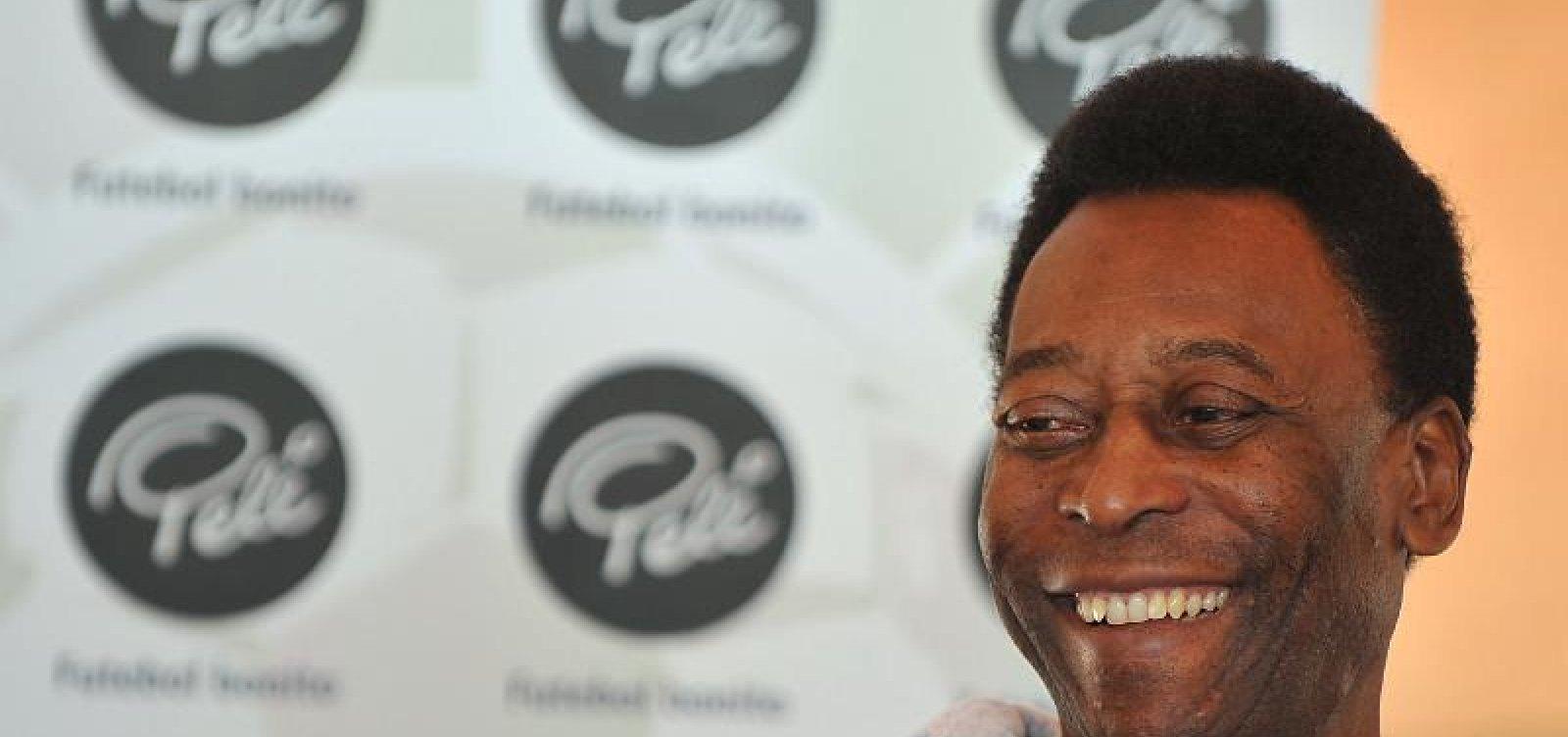 Com infecção urinária, Pelé deve ter alta ainda nesta semana