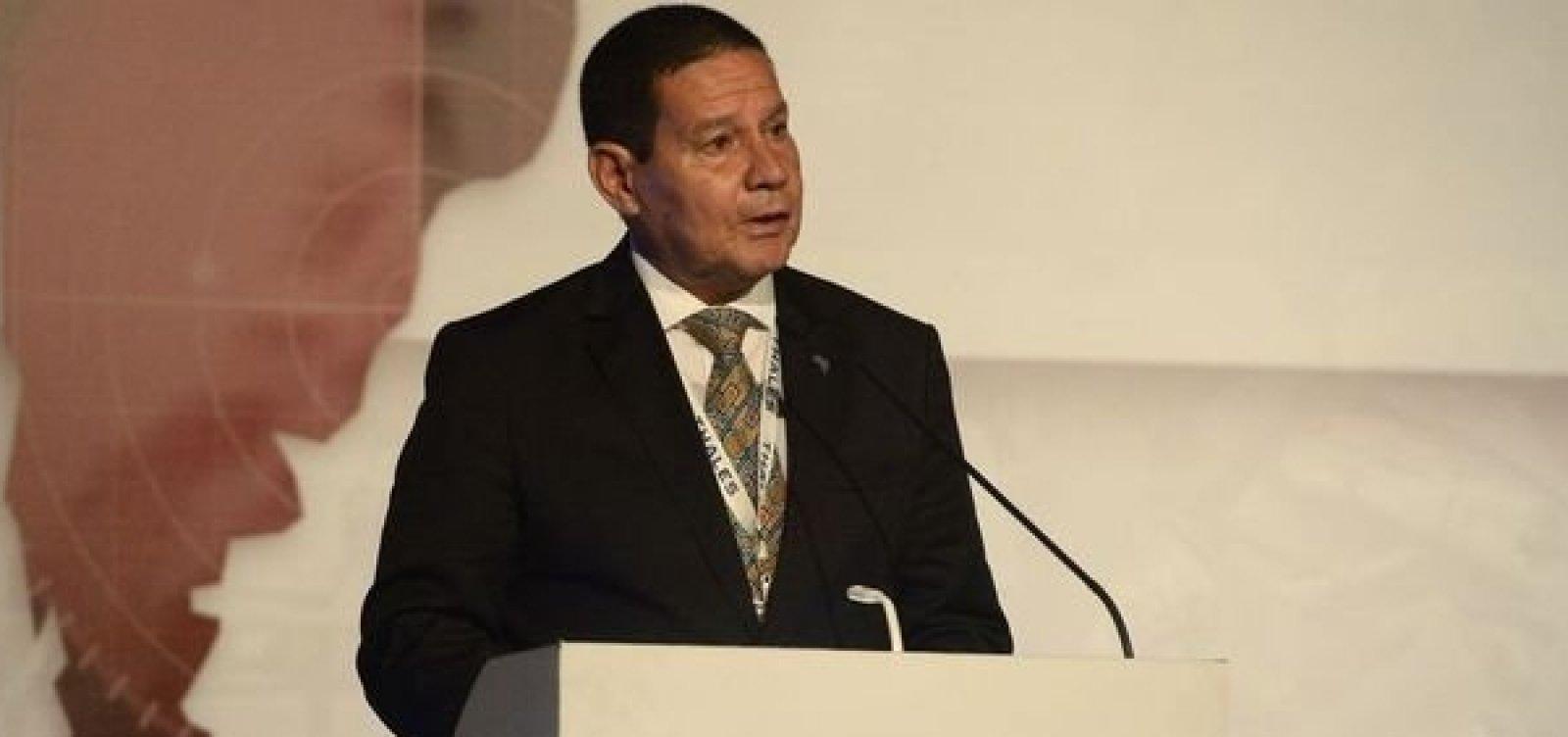 Mourão terá encontro com moderados e se contrapõe a Bolsonaro nos EUA