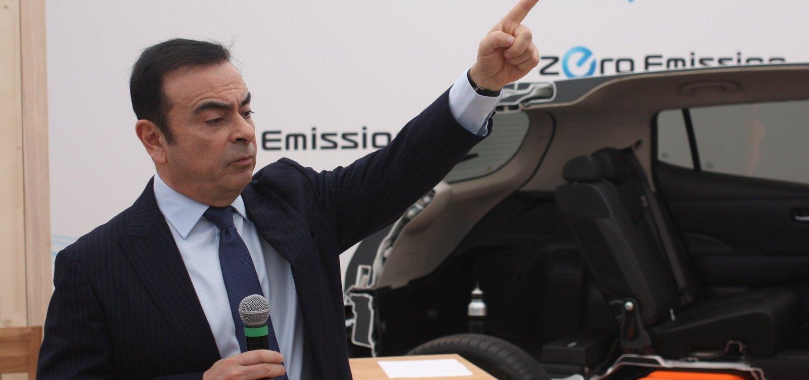 Ghosn é destituído da direção da Nissan