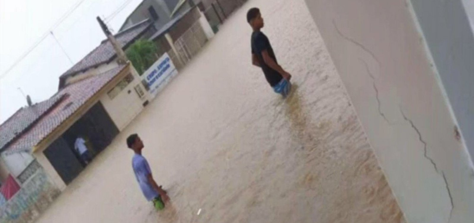 Prefeitura declara estado de emergência após chuvas em São Sebastião do Passé