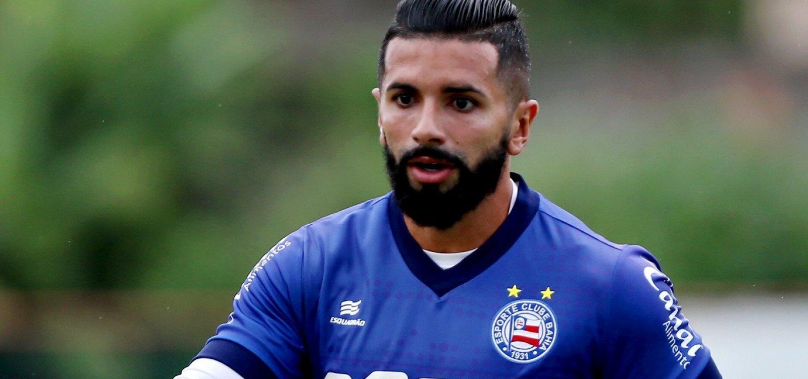Após 'veto', Guilherme pode ganhar nova chance no Bahia