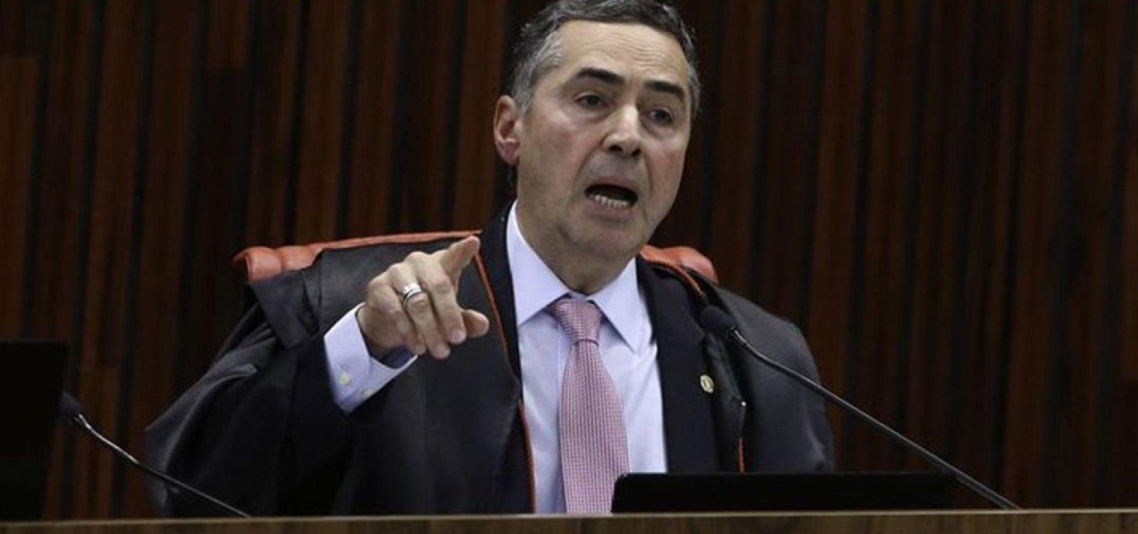 'Se os homens engravidassem, já teria resolvido há muito tempo', diz Barroso sobre aborto