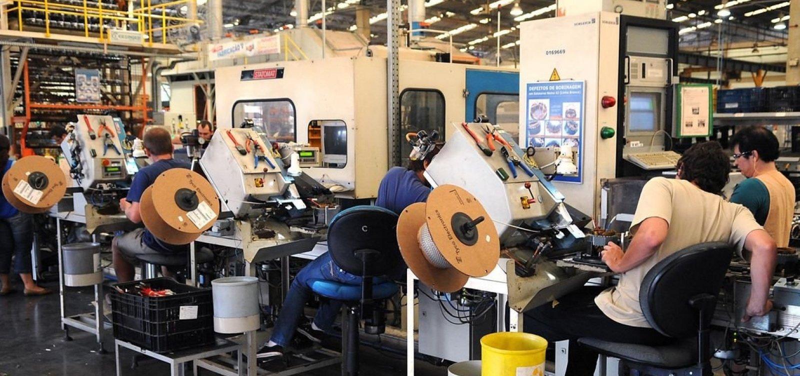 Produção industrial baiana cresce em fevereiro, segundo IBGE
