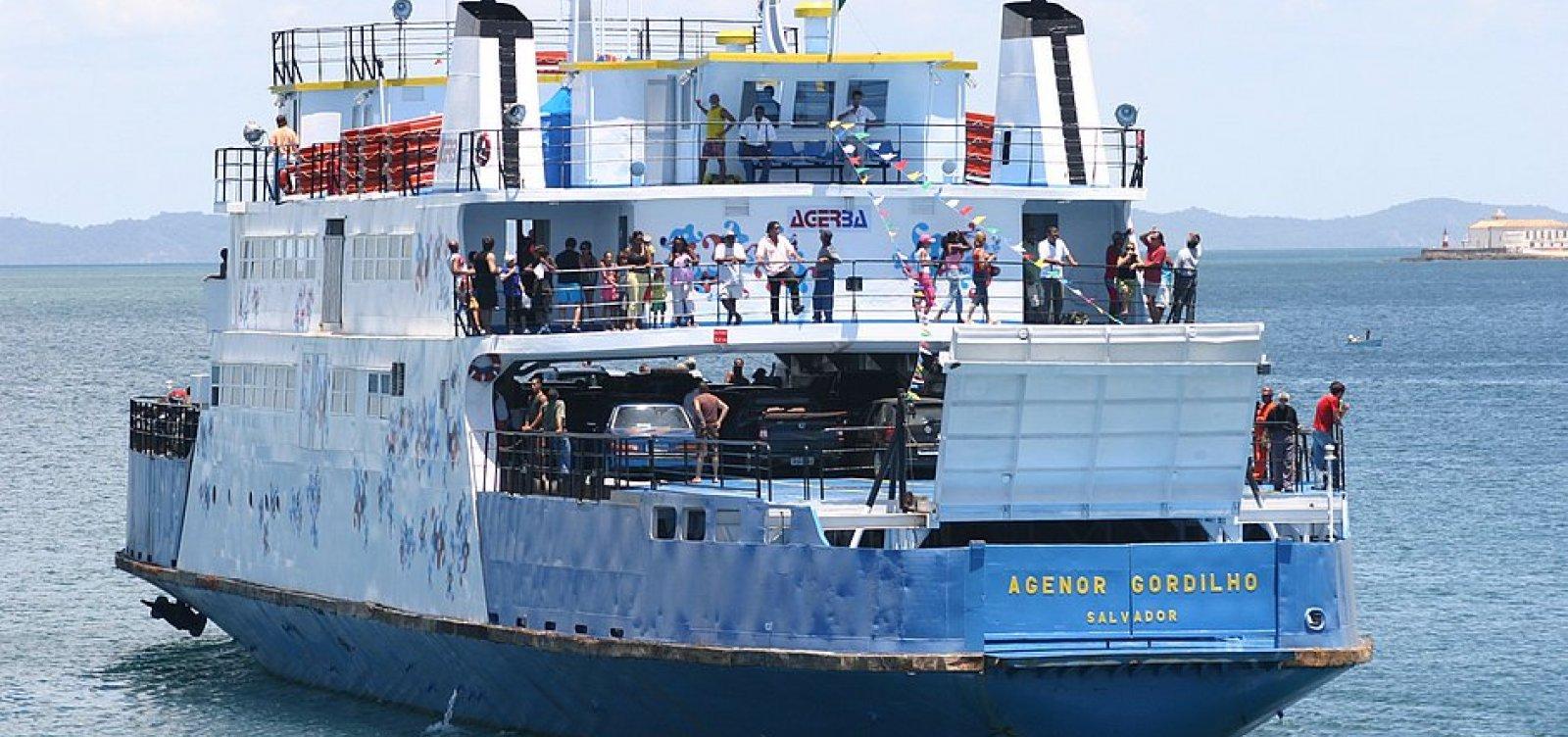 Ferry boat será afundado no mar do Corredor da Vitória, anuncia secretário