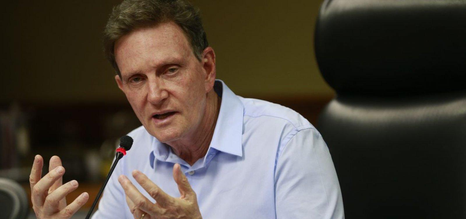 Crivella diz que chuva forte no Rio é resultado do aquecimento global