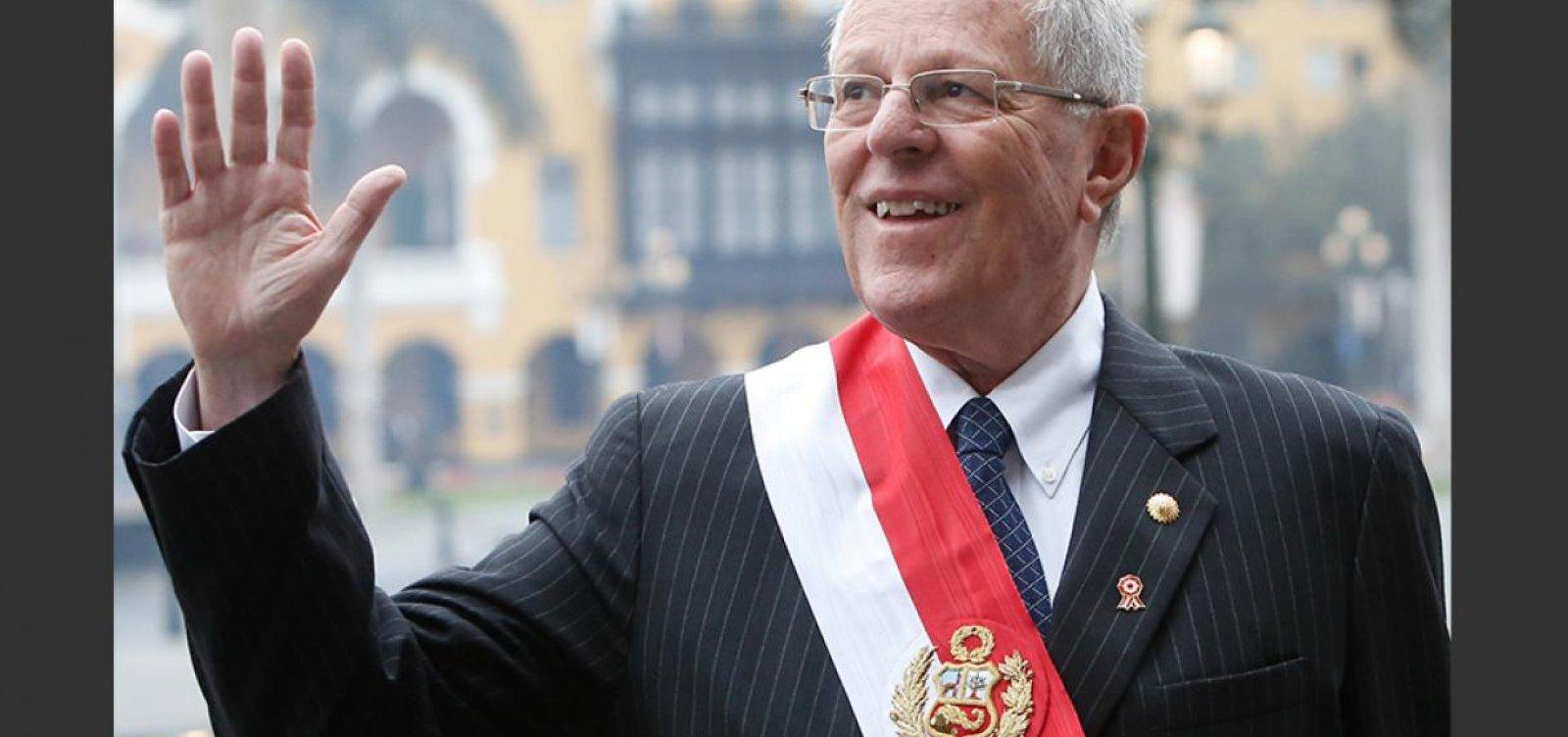 Justiça do Peru manda prender 'PPK'