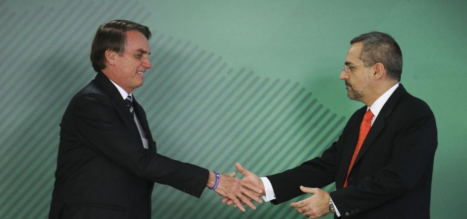 Novo ministro do MEC anuncia troca de quatro secretários