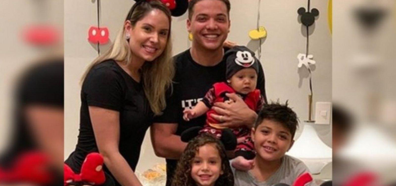 Dois filhos de Safadão são internados em hospital de Fortaleza