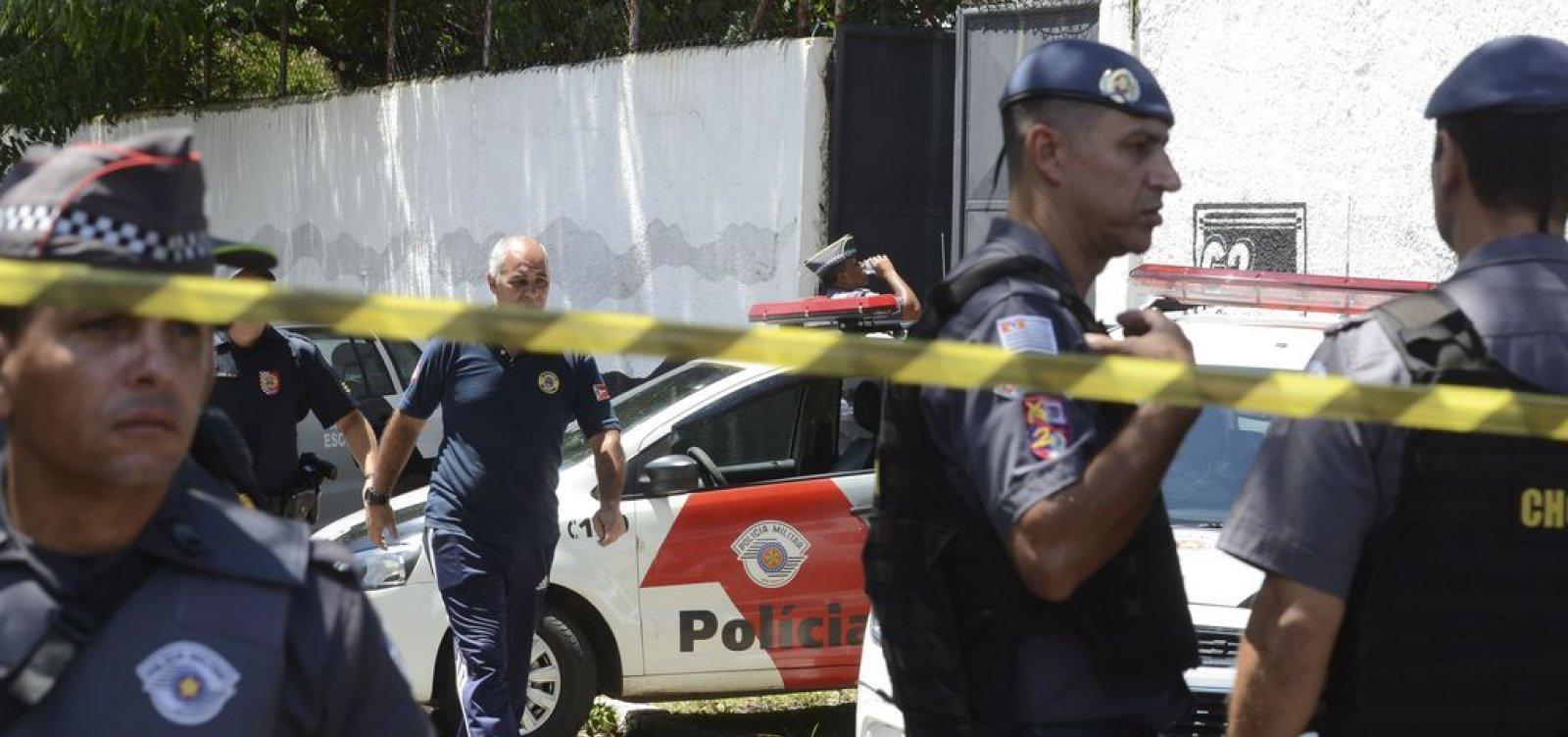 Polícia prende dois suspeitos de envolvimento em atentado de Suzano