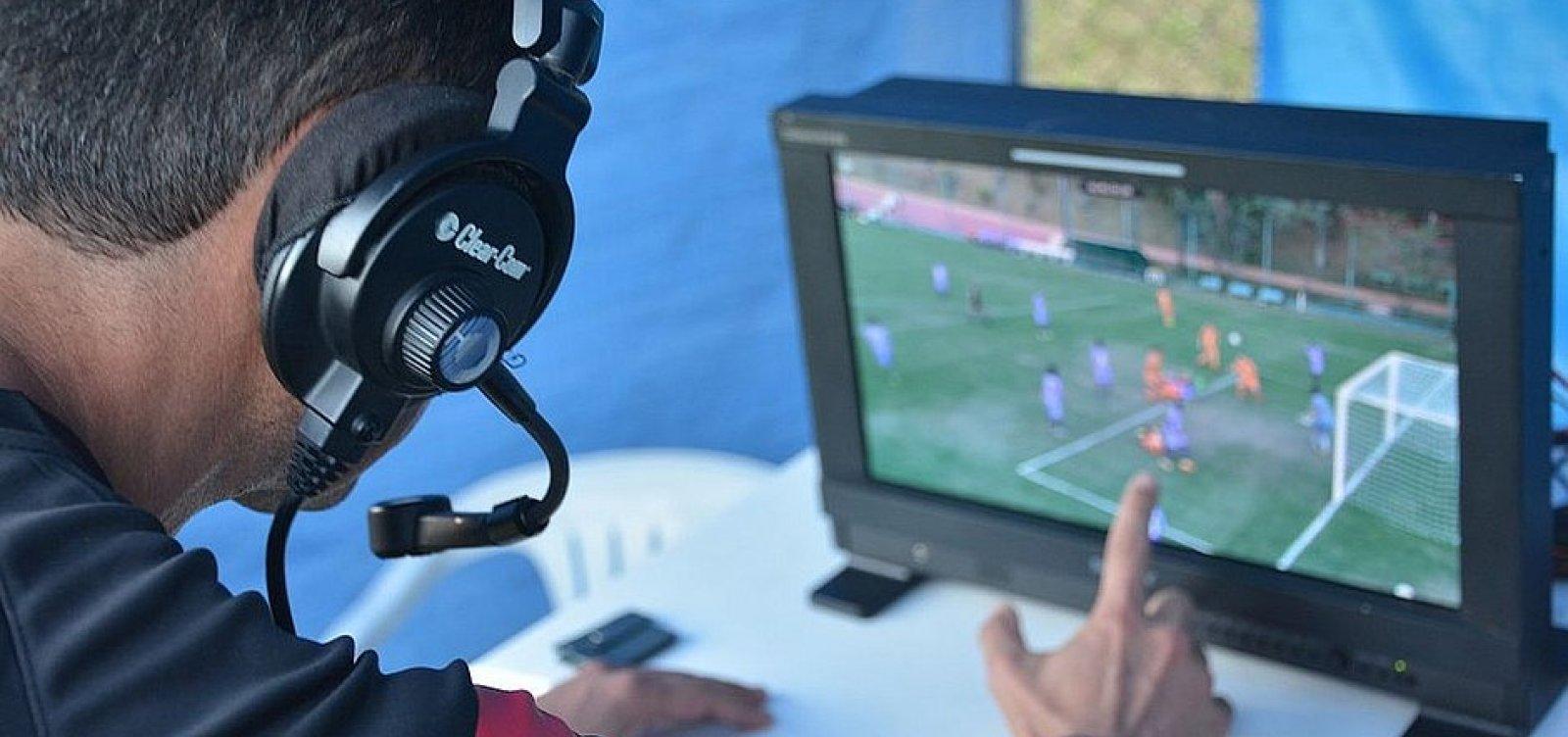 Final do Baianão terá auxílio do árbitro de vídeo