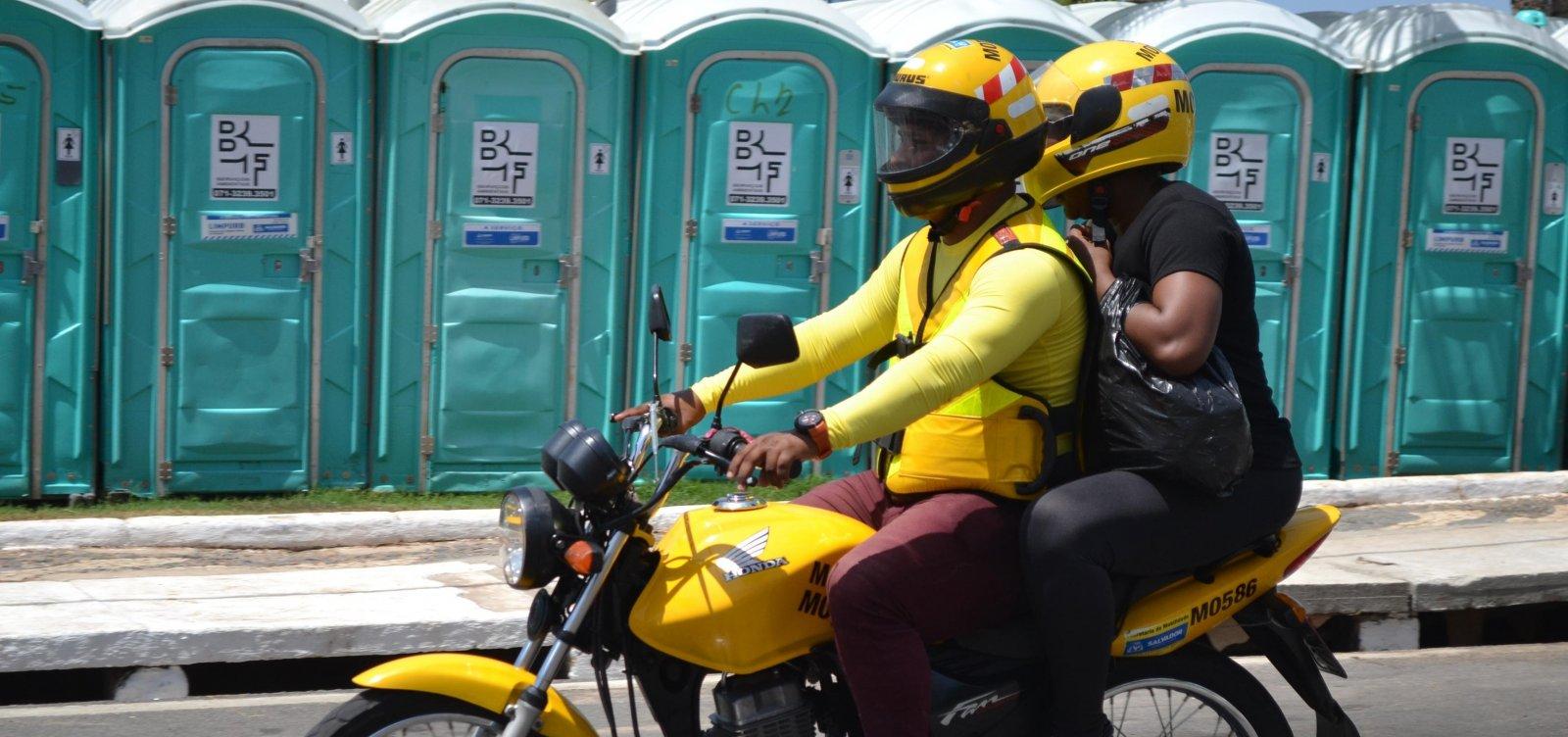 Prefeitura de Salvador retoma credenciamento para mototaxistas