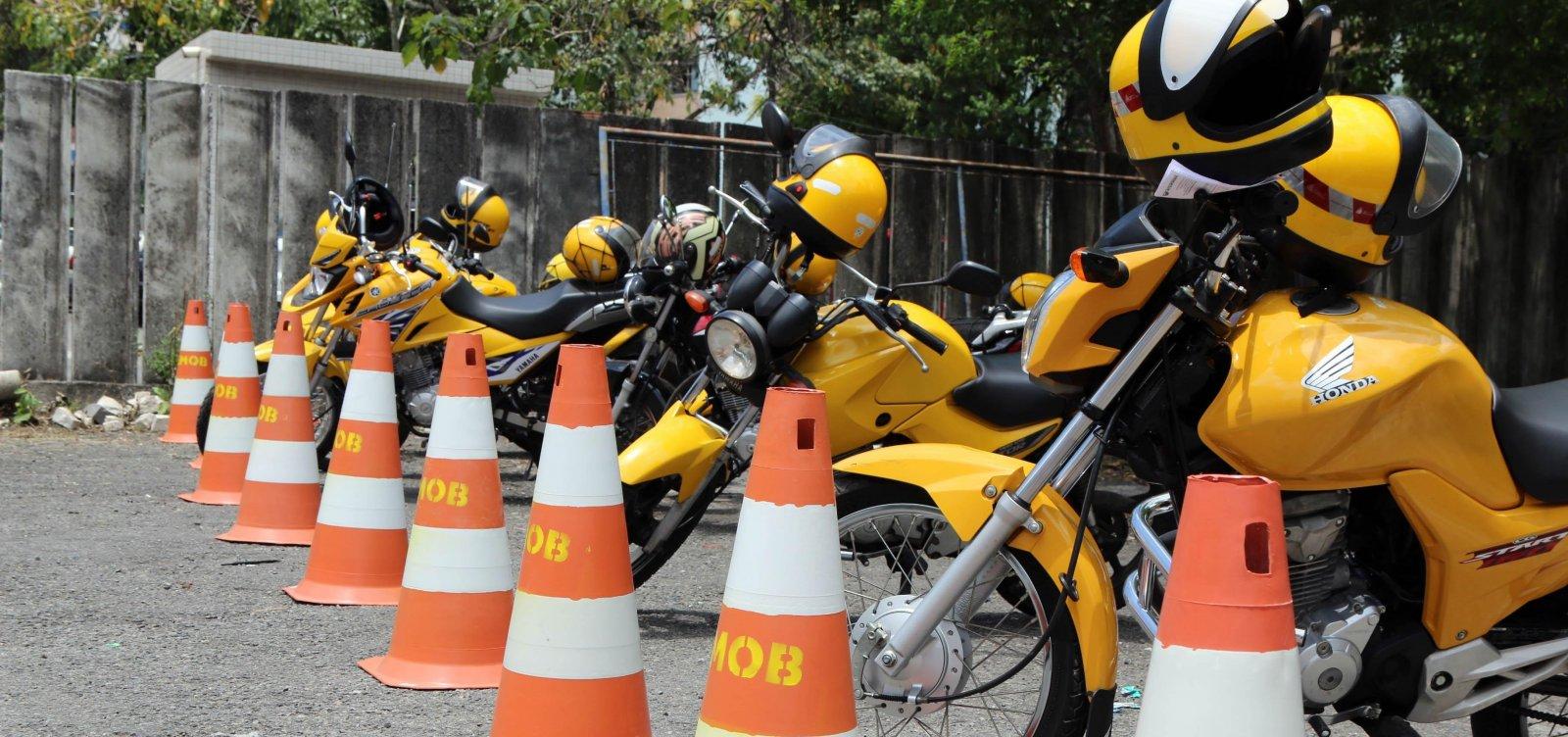Credenciamento de mototaxistas será retomado no dia 22 de abril
