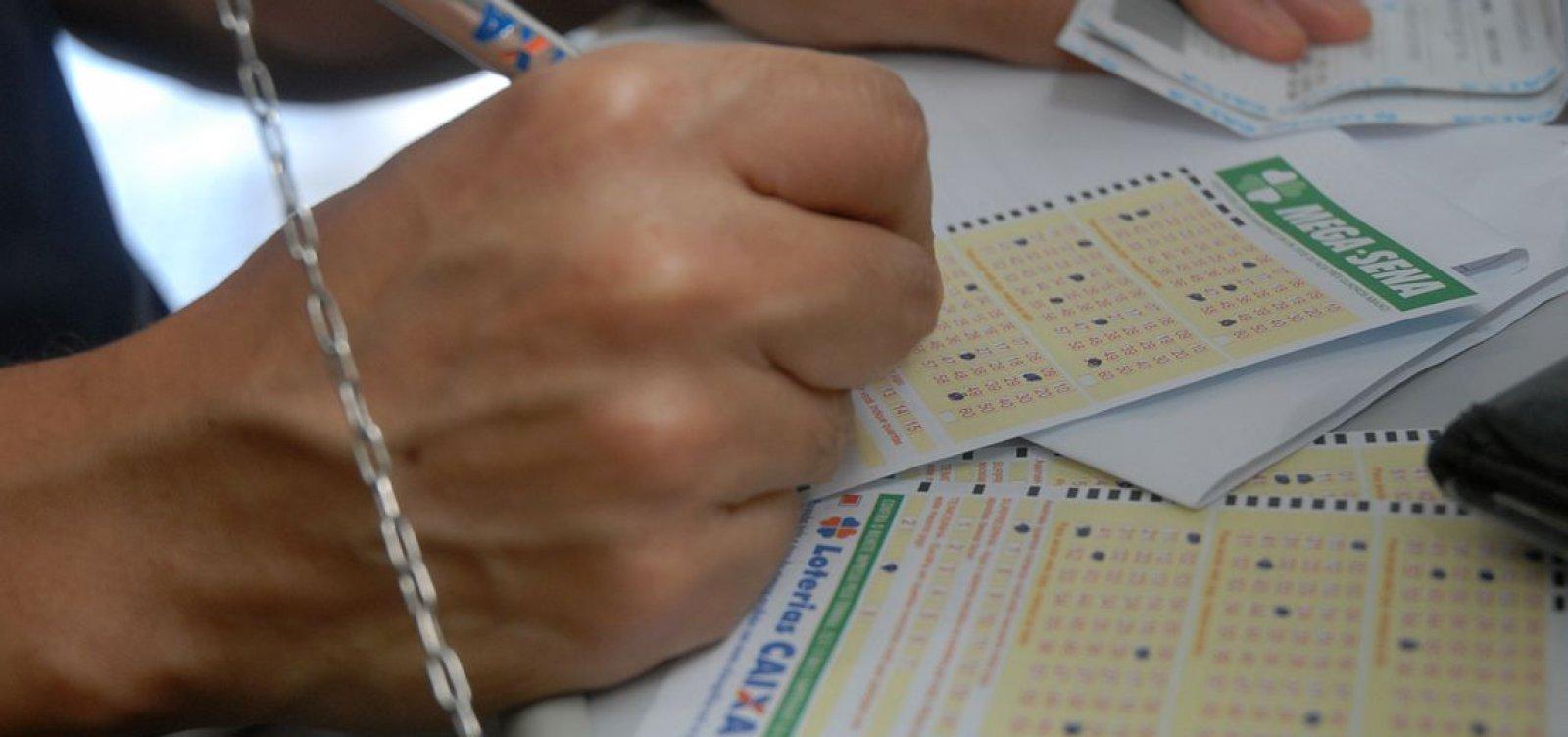 Mega-Sena vai sortear prêmio de R$ 45 milhões neste sábado