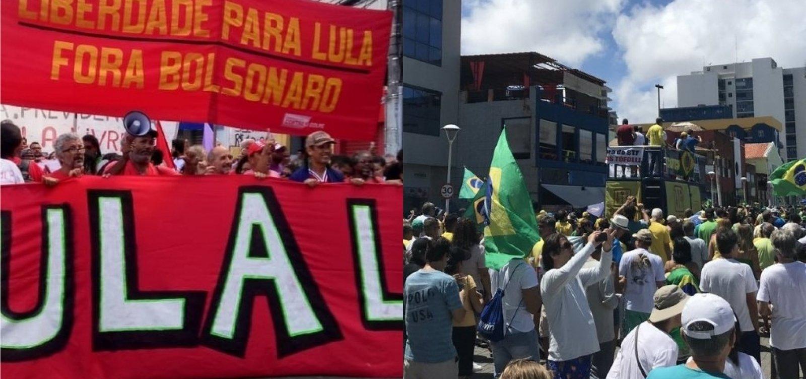 Radicalismo político no Brasil supera média global, aponta estudo