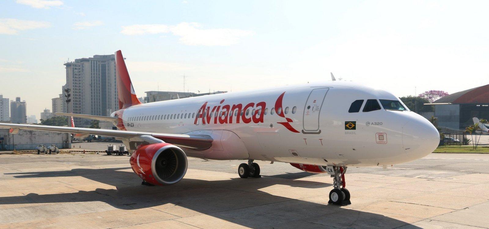 Avianca terá mais de 50 voos cancelados por dia a partir desta segunda-feira