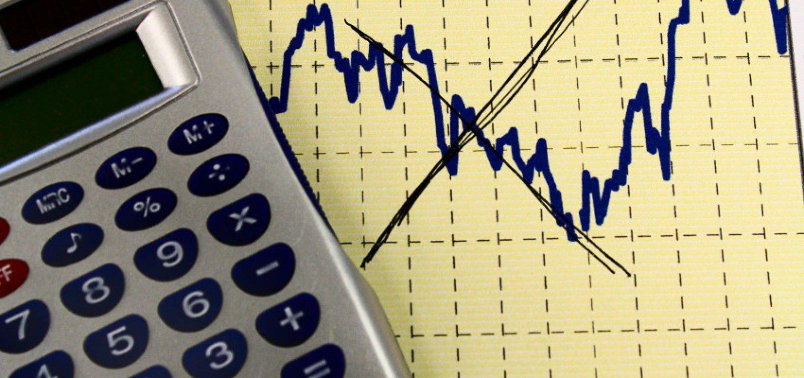 Mercado baixa estimativa de alta do PIB pela sétima vez seguida