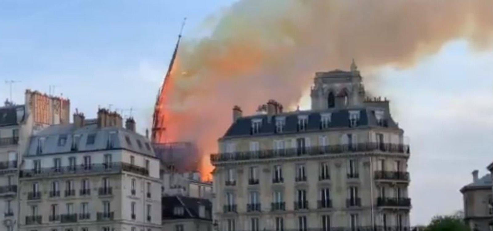Museu Nacional se solidariza com franceses após incêndio em Notre-Dame