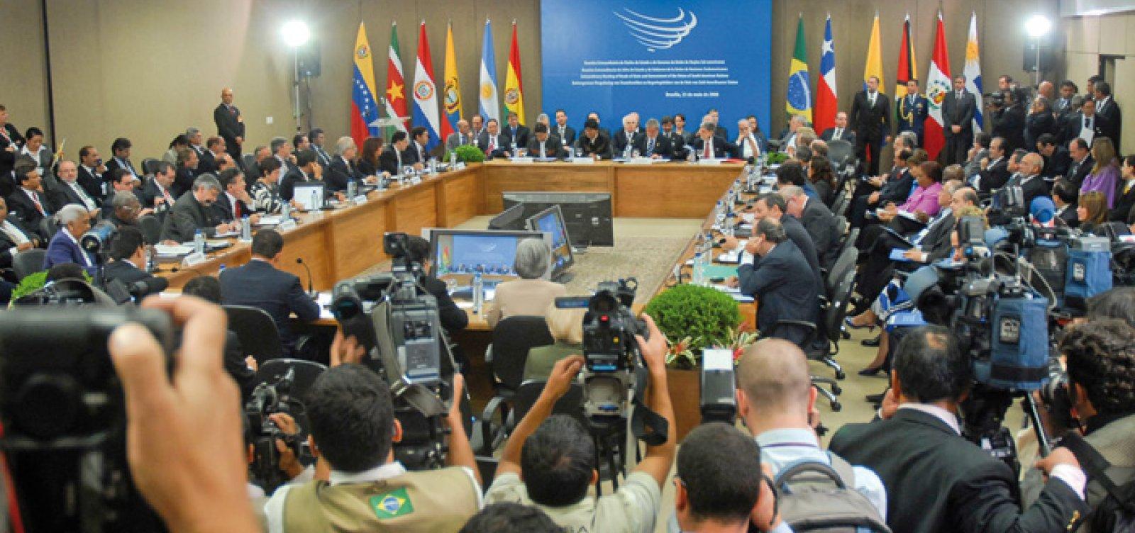 Saída do Brasil da Unasul é formalizada pelo Itamaraty