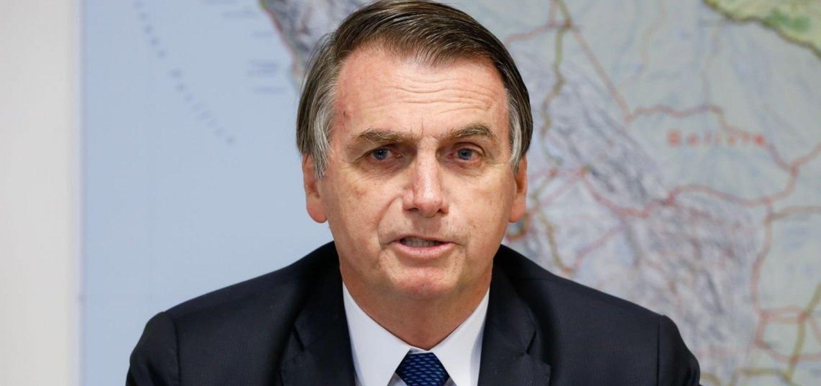 'Sempre serei favorável à liberdade de expressão', diz Bolsonaro em meio a críticas ao STF