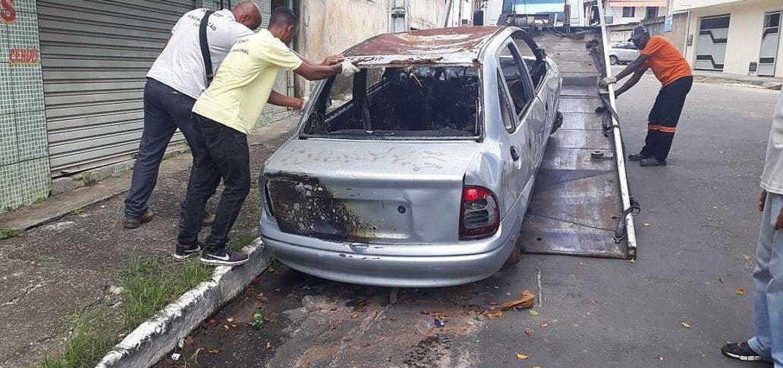 Prefeitura retira, em média, 35 sucatas nas ruas de Salvador a cada semana