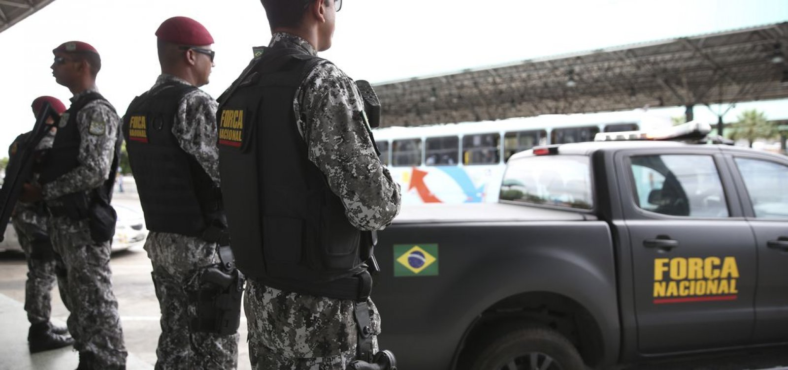 Força Nacional fará segurança na Esplanada
