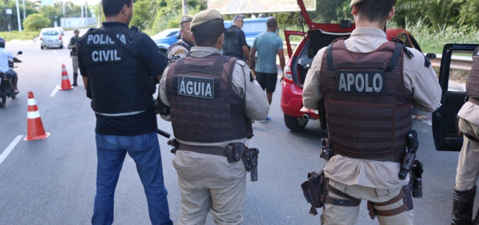 Bahia teve queda de 20% em número de assassinatos, aponta pesquisa