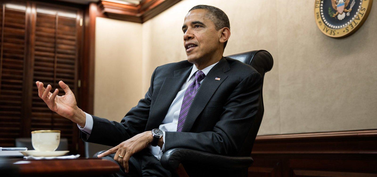 Obama revela desejo de conhecer a Bahia