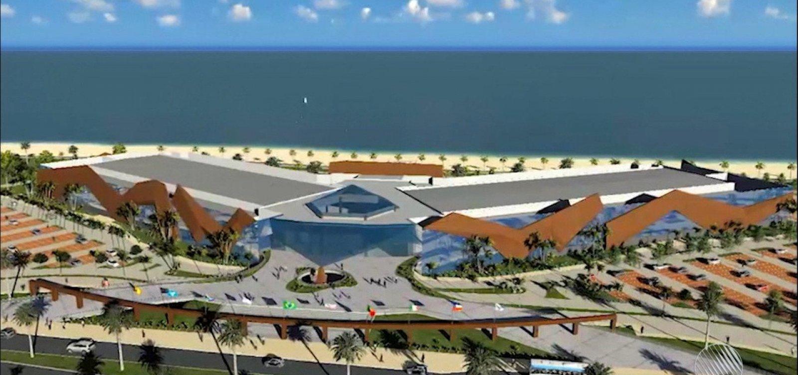 Centro de Convenções Municipal está 32% concluído