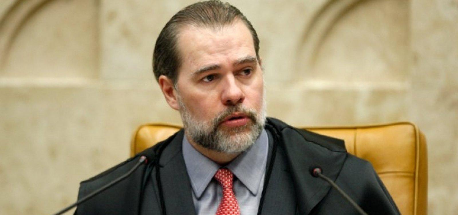Toffoli nega censura e acusa sites de orquestrarem ação antes de STF julgar prisão em 2ª instância
