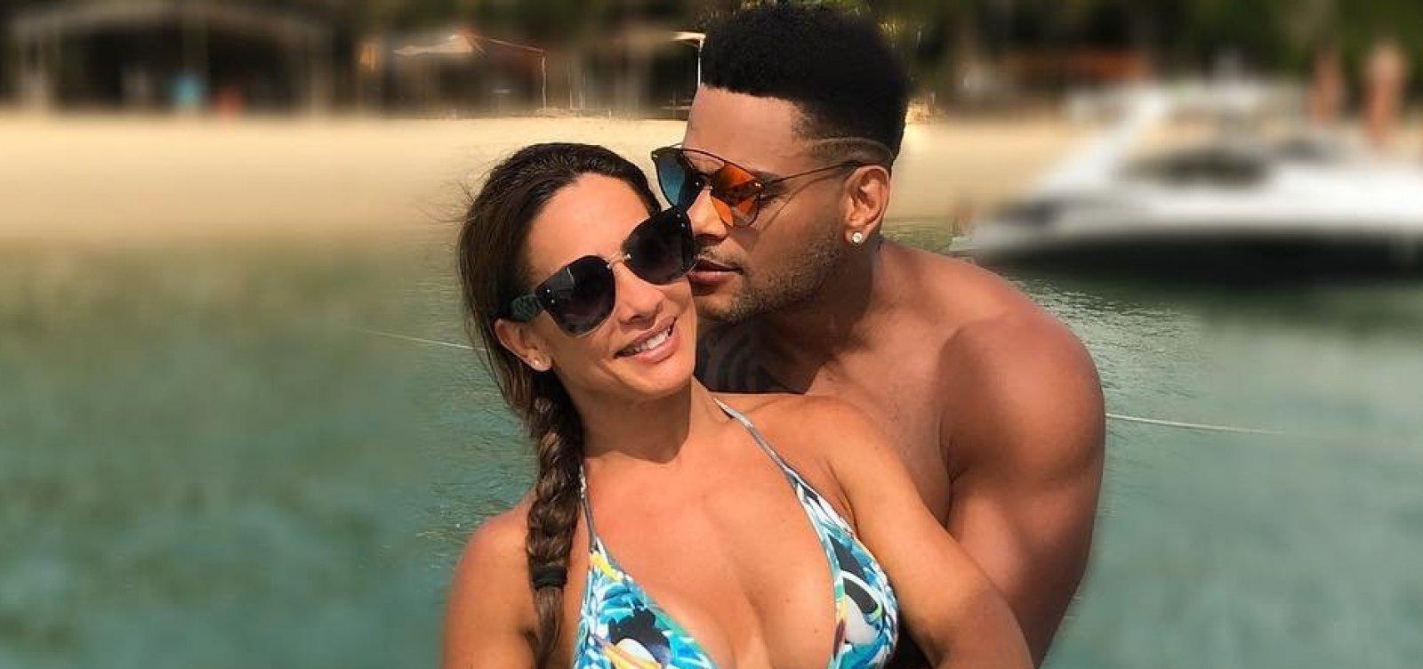 Scheila Carvalho celebra 12 anos de casamento com Tony Salles: 'Te amo, minha vida!'
