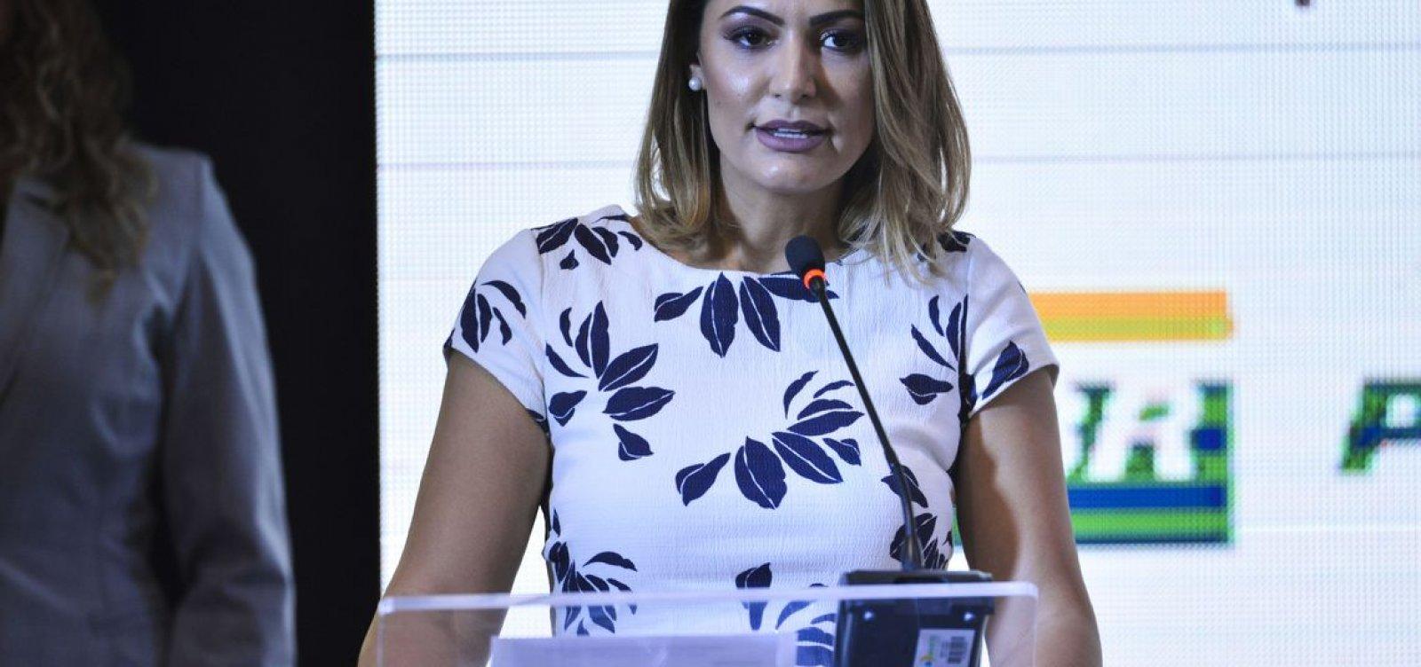 Alerj concede a maior honraria do Rio à primeira-dama Michelle Bolsonaro