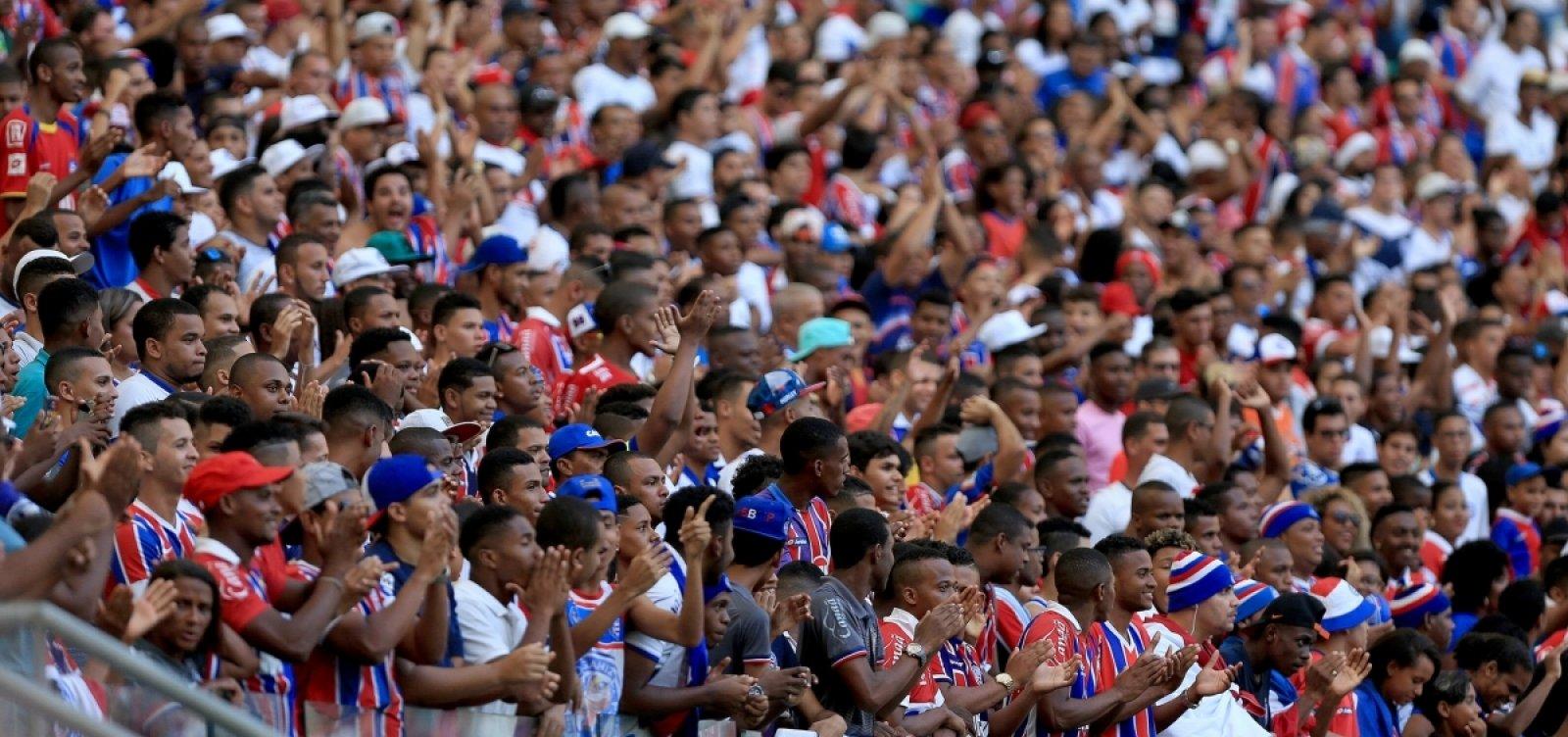 Jogadores do Bahia usarão símbolo do autismo na final do Baianão