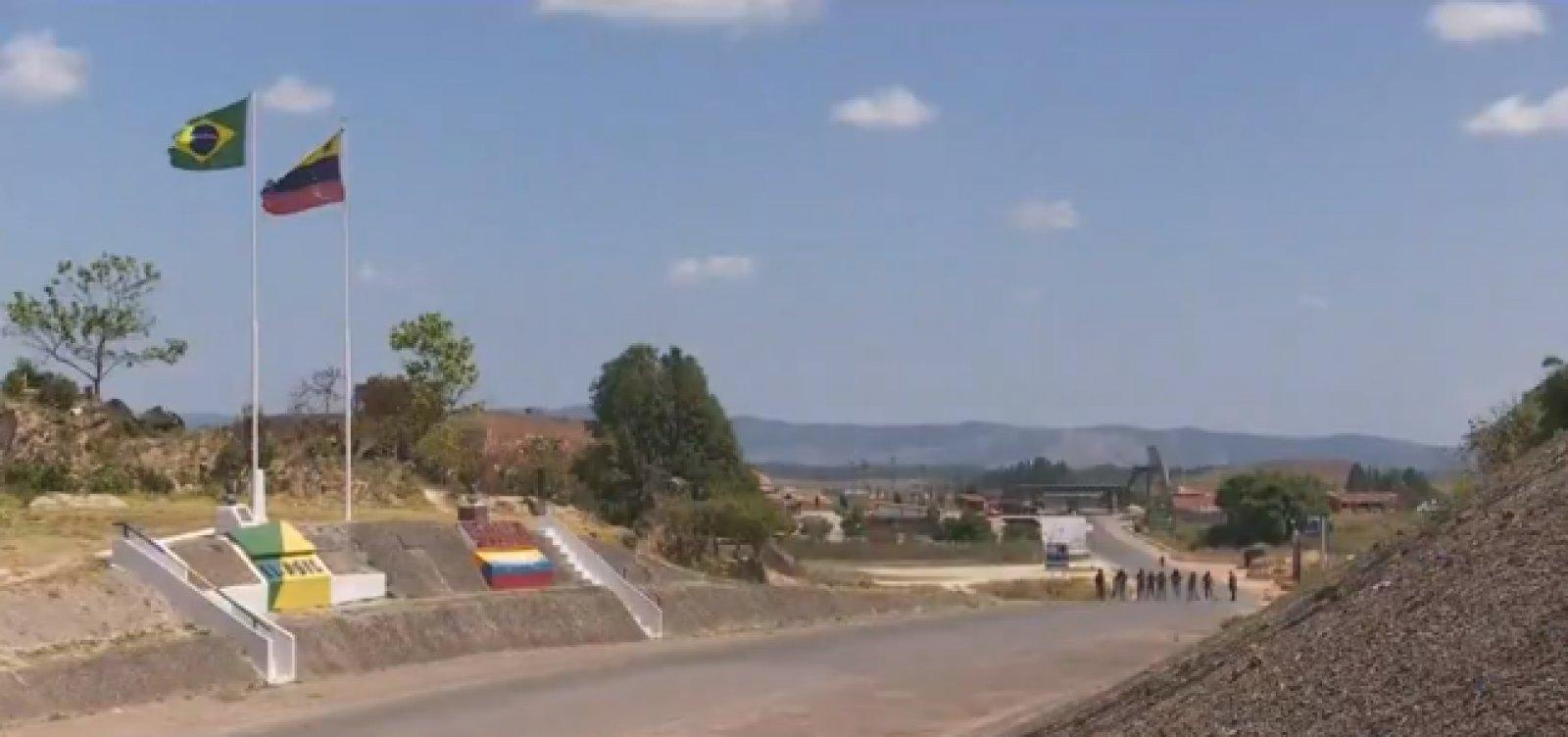Fronteira entre Brasil e Venezuela completa dois meses fechada