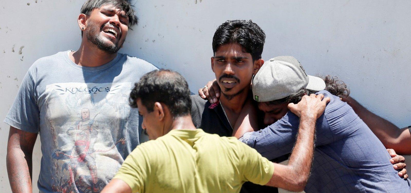 Explosões em hotéis de luxo e igrejas católicas deixam mortos e feridos no Sri Lanka