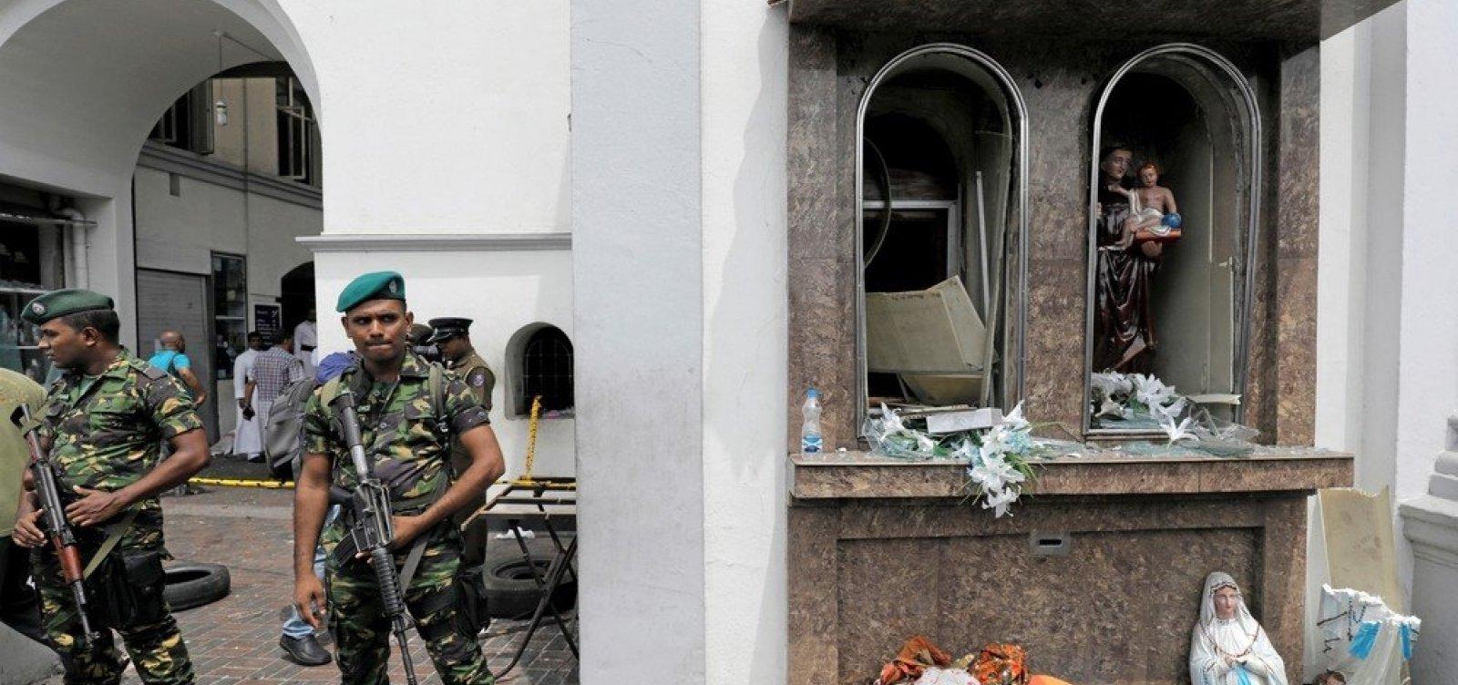 Após atentados, Sri Lanka bloqueia redes sociais
