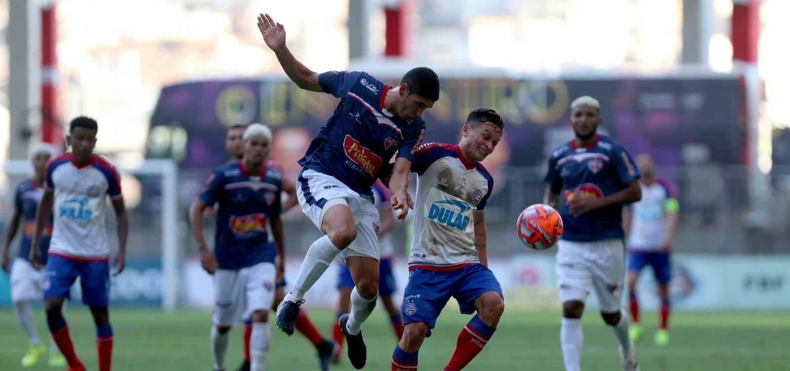 Bahia vence 'xará' de Feira por 1 a 0 e conquista 48º título do Baianão