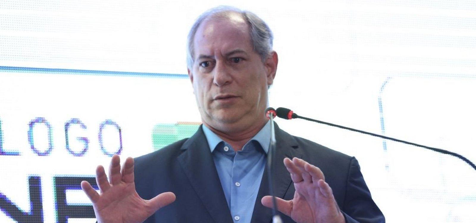 Comunidade judaica processa Ciro Gomes por antissemitismo