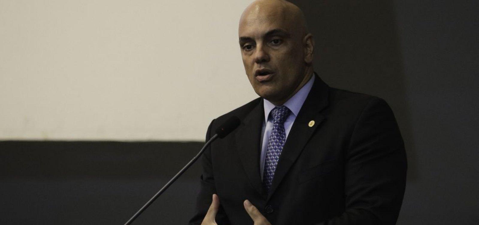 'Ameaças graves' à Corte vão continuar sendo investigadas, diz Moraes