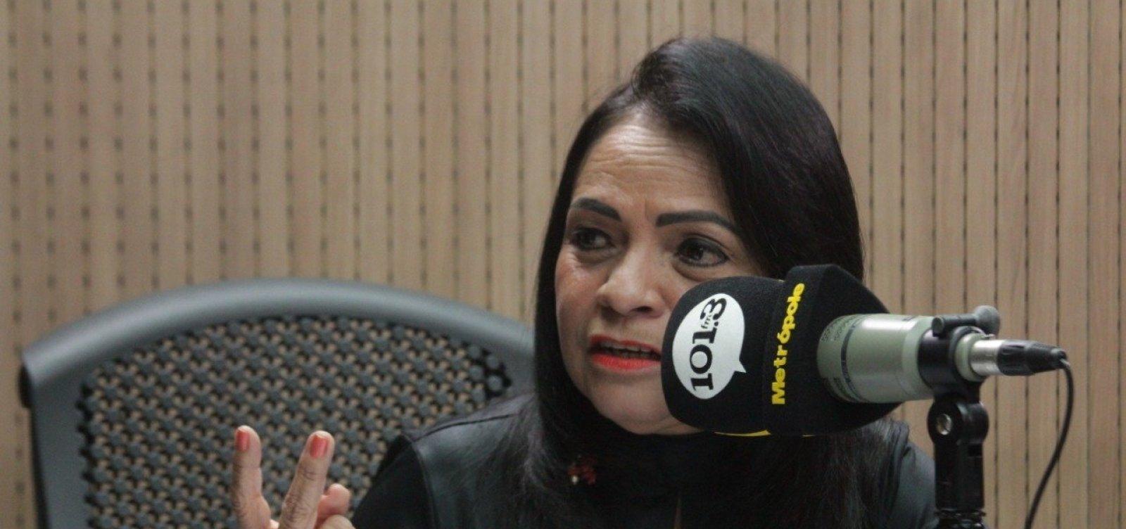 'Todo mundo virou valente', rebate Moema sobre críticas à sua administração em Lauro de Freitas