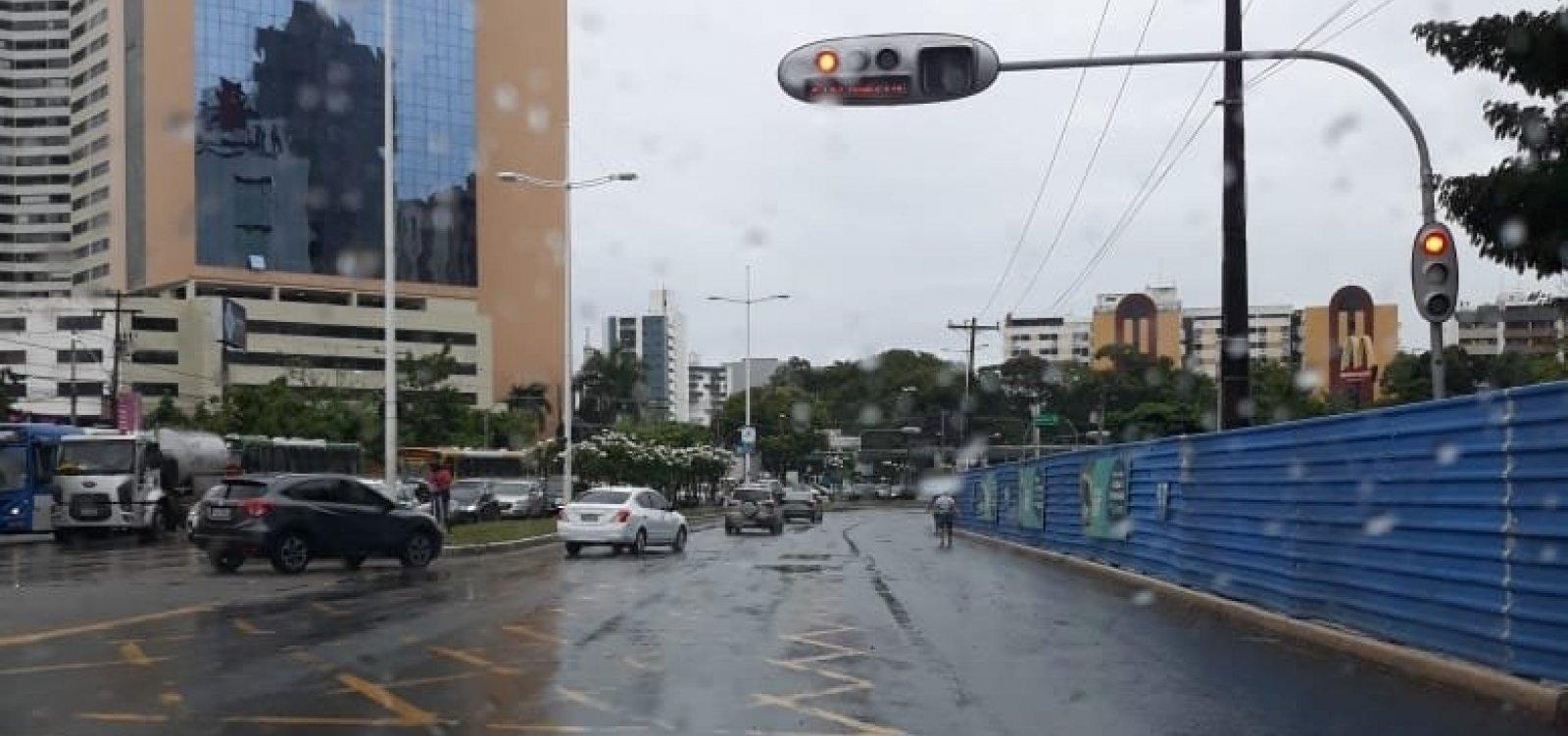 Codesal alerta para chuvas moderadas nas próximas 24 horas