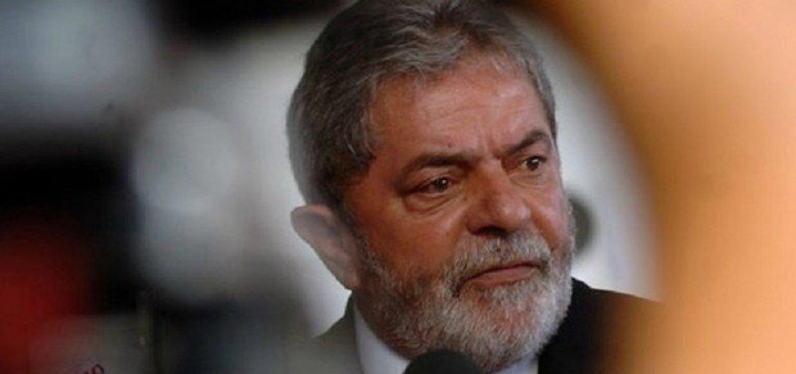 STJ julga hoje recurso contra condenação de Lula