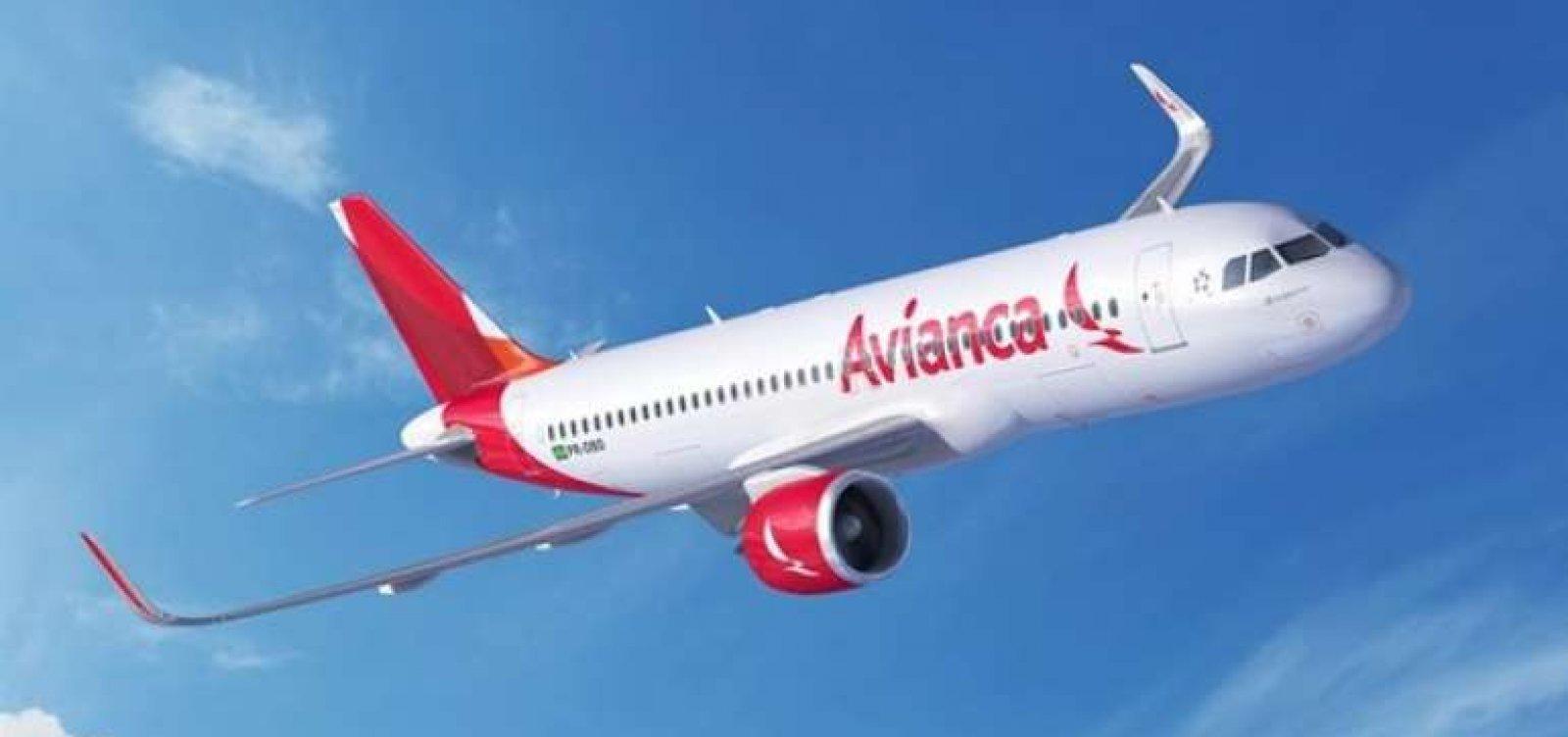 Avianca paga tarifas para operar no aeroporto de Salvador amanhã
