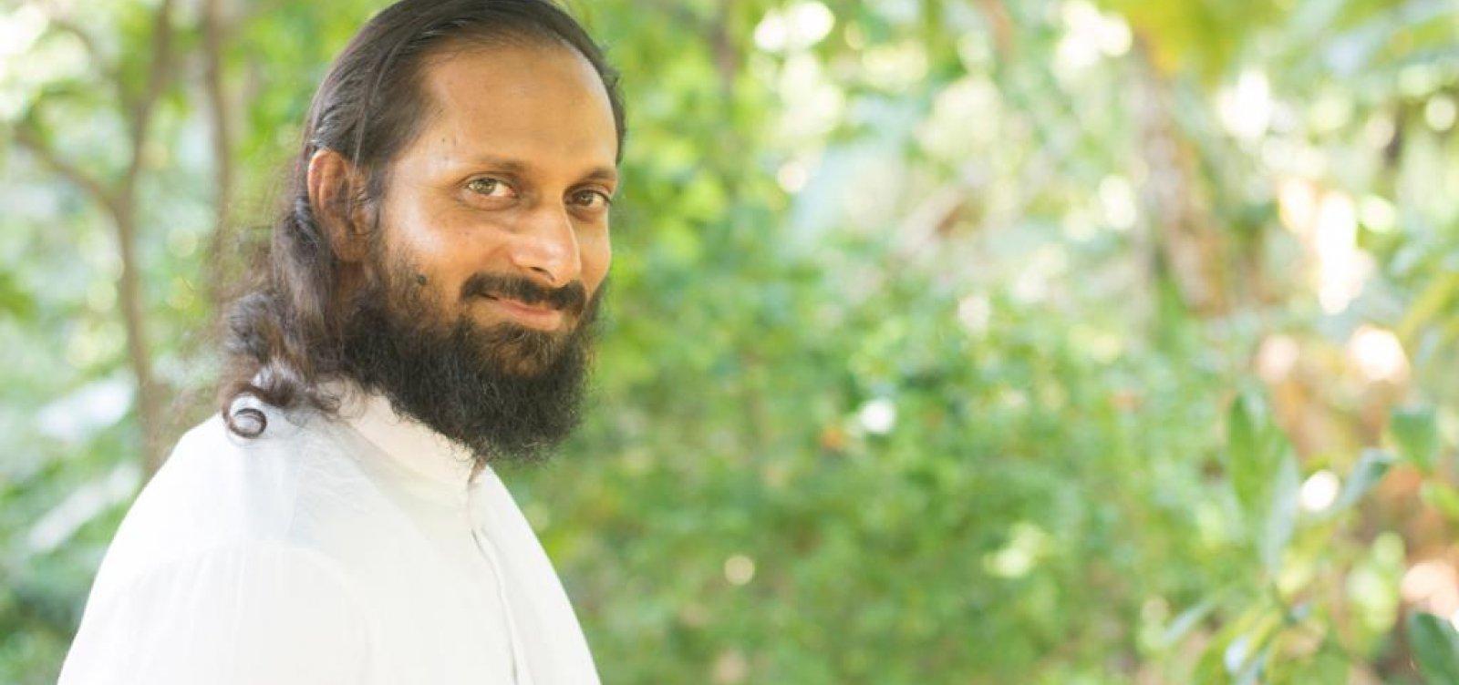 Líder espiritual Swami Paramtej irá ministrar curso em Salvador