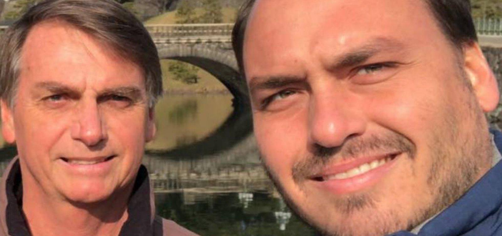 Bolsonaro quer colocar 'ponto final' no atrito entre filho e Mourão; Carlos volta a postar crítica a vice