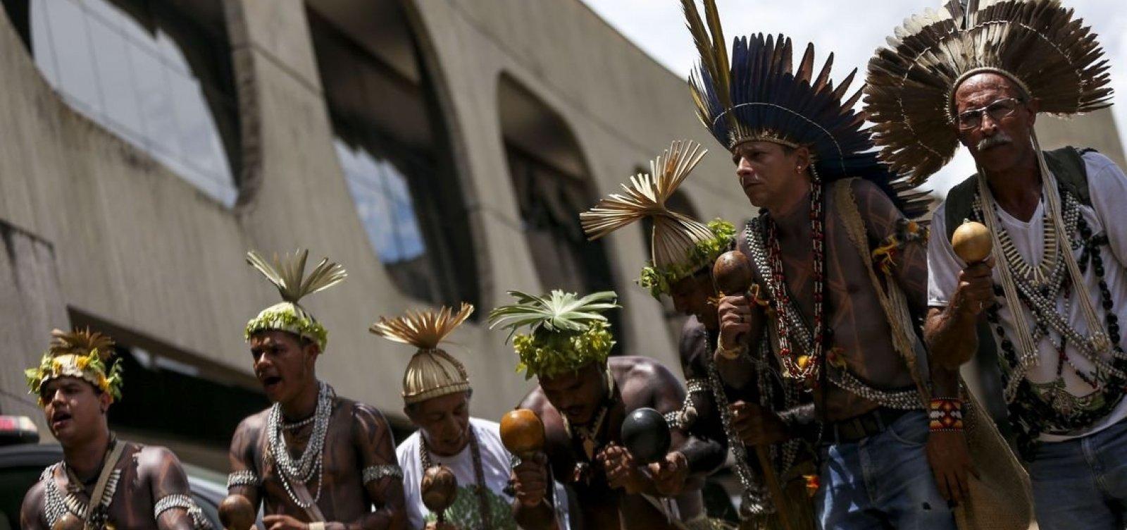 Manifestação indígena em Brasília deve acontecer sob tensão